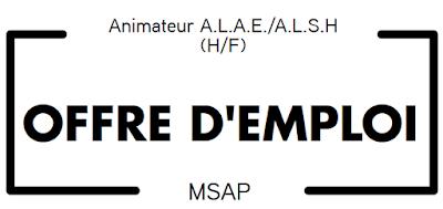 Animateur ALAE/ALSH (H/F)