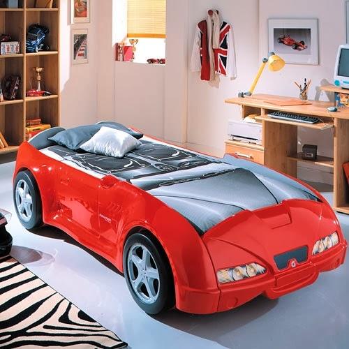 Dormitorio tema autos
