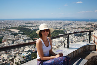 athens sightseeing mount lycabettus church