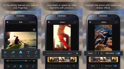 cara edit video dengan action editor