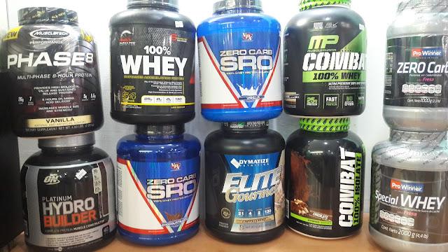 nutrición para deportistas con suplementos prowinner