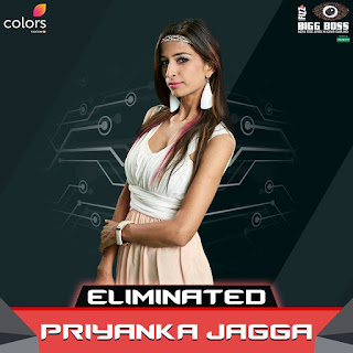 FIRST WEEK EVICTION : Priyanka Jagga