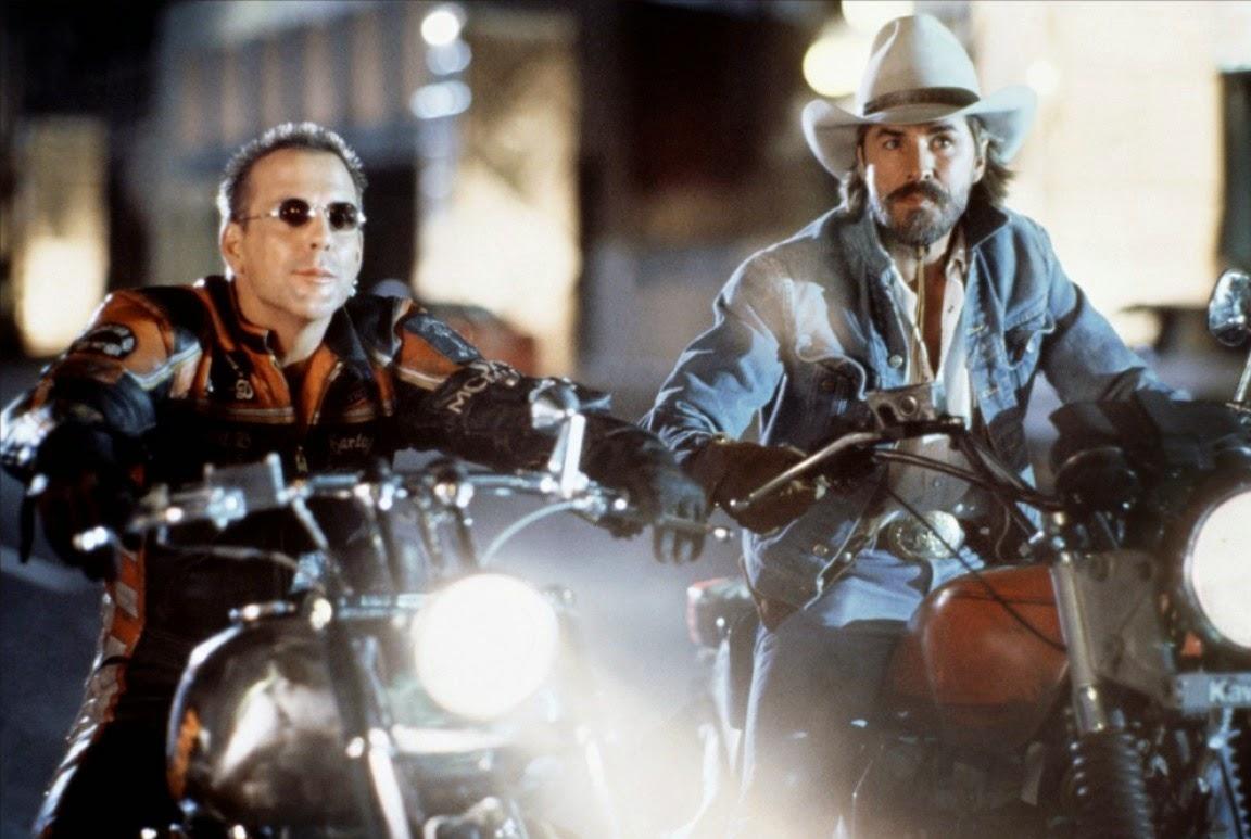 Harley Davidson and the Marlboro Man Mickey Rourke Don Johnson