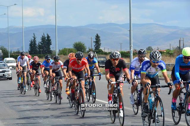 """Πέρασε από την Αργολίδα η """"29 Σπαρτακιάδα"""" με 350 ποδηλάτες"""