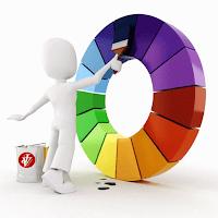 JV Pintando a roda de cores