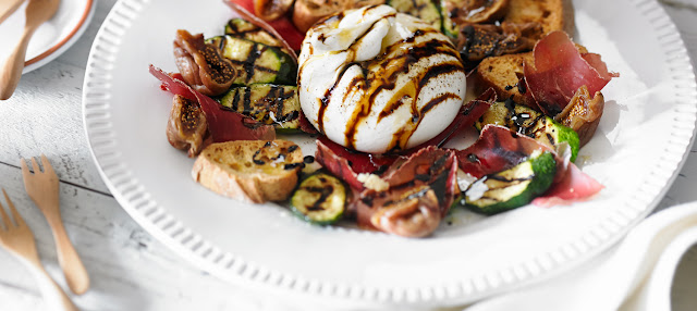 Burrata is the star of this inspiring recipe Turkish Burrata Recipe