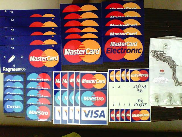Sticker Brand Mastercard