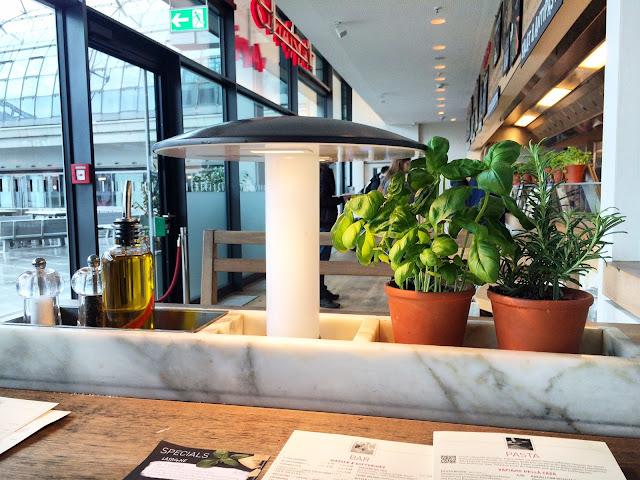 Vapiano fastfood i Berlin