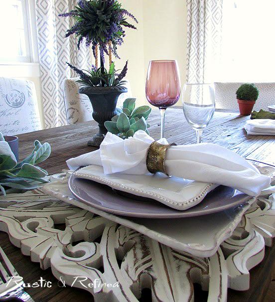 creative table setting ideas