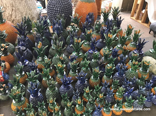 Handicraft Items: Clay Pineapples of San José de Gracía, Michoacán