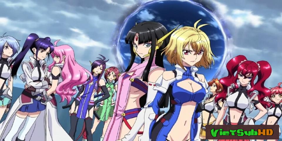Phim Cross Ange Tenshi to Ryuu no Rondo Full 25/25 VietSub HD | Cross Ange Tenshi to Ryuu no Rondo 2014
