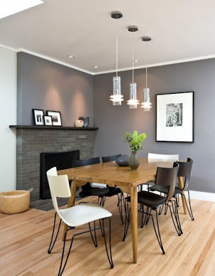 Ideas to put a large dining table in a small room
