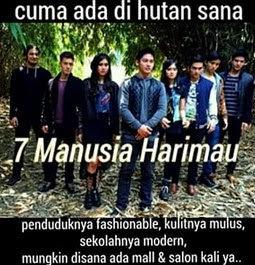 Kata-kata Lucu 7 Manusia Harimau