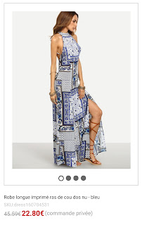 https://fr.shein.com/Multicolor-Print-Halter-Backless-Split-Maxi-Dress-p-295505-cat-1727.html?utm_source=unblogdefille.blogspot.fr&utm_medium=blogger&url_from=unblogdefille