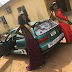 Photogist: See The Old Model Of Honda Civic Car Presented To Miss Igala Nigeria 2017
