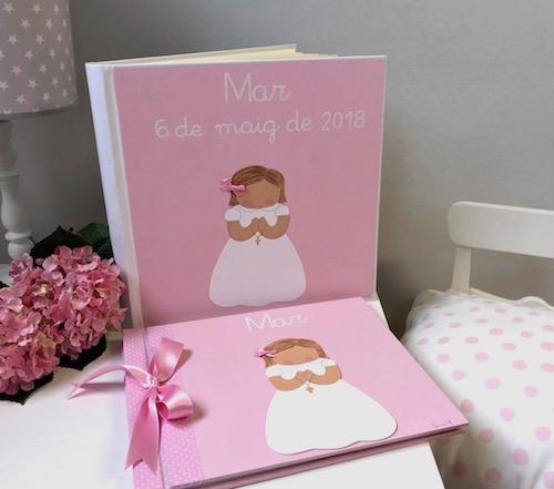 álbumes de fotos personalizados y libros de firmas personalizados para PRIMERA COMUNIÓN