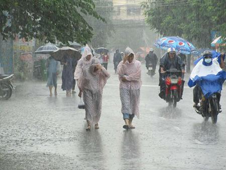 Chú ý bảo vệ sức khỏe khi gặp mưa