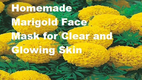 Homemade Marigold Face Mask for Clear and Glowing Skin