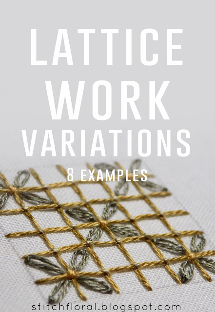 Lattice work variations
