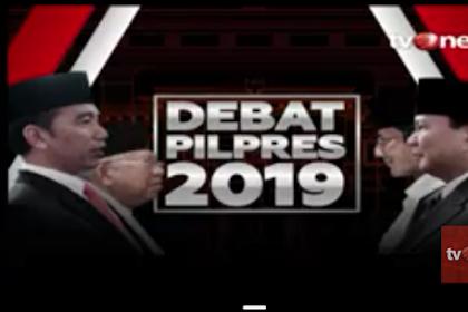 Debat Kelima Pilpres 2019