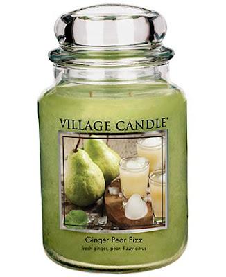 nouveautés village candle ginger pear fizz 2017
