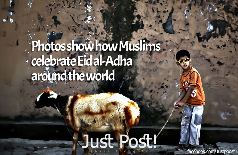 20 Photos show how Muslims celebrate Eid al-Adha around the world