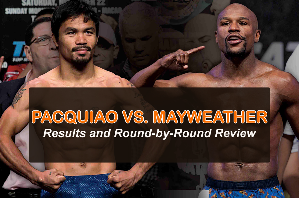 Pacquiao vs Mayweather Results