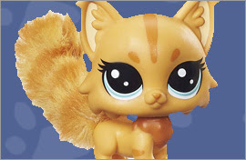 LPS Maine Coon Cat Figures