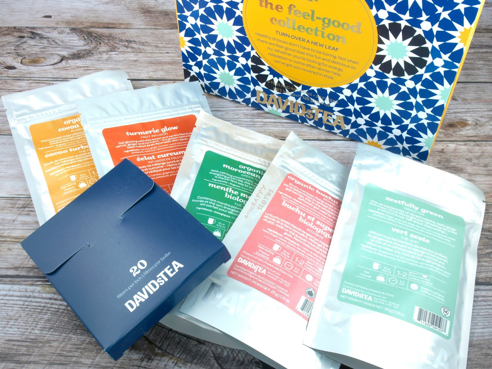 DAVIDsTEA Spring 2017 The Feel Good Collection