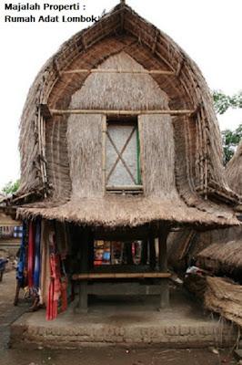 Desain Bentuk Rumah Adat Lombok dan Penjelasannya, Rumah Adat Suku Sasak