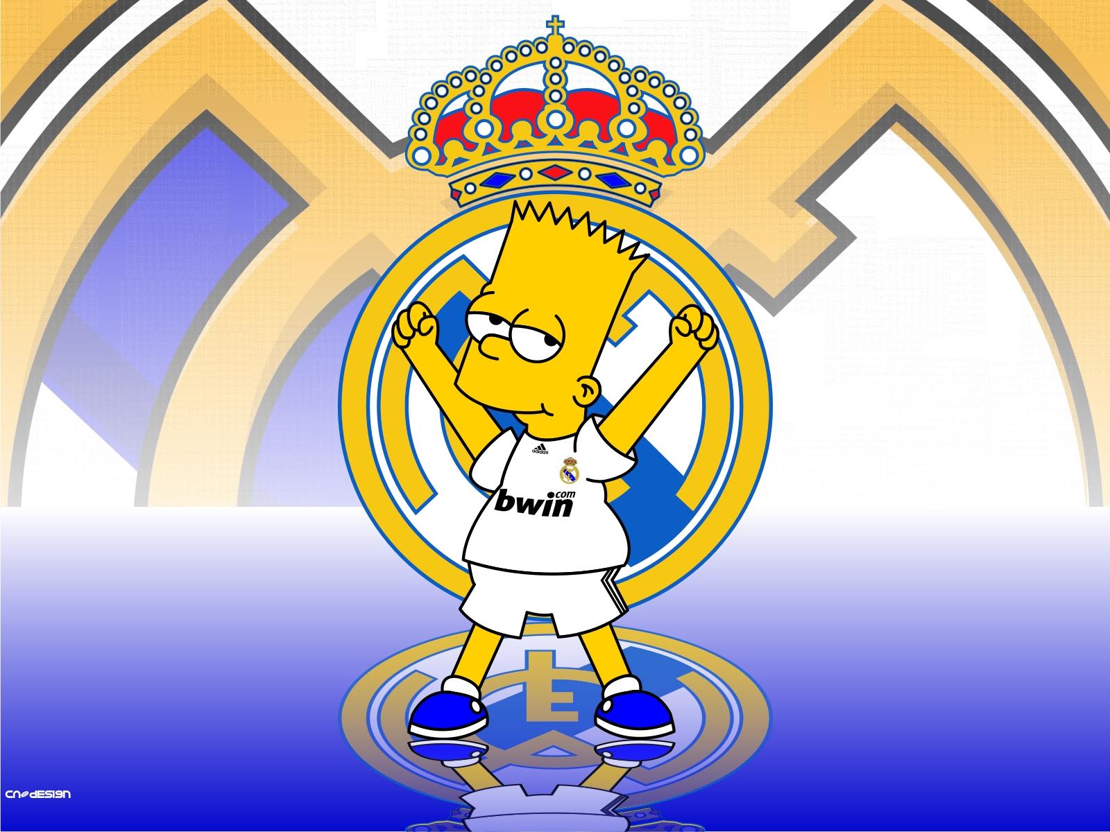 IDOLOS DE PR DEL RMADRID LOS SIMPSONS DEL REAL MADRID CFReal Madrid