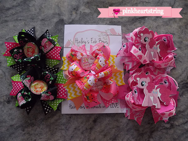 Hailey's Fab Bows: Hairbows of Love for Our Little Princesses