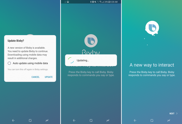 Cara Download Bixby Voice di Samsung Galaxy S8 dan S8 Plus