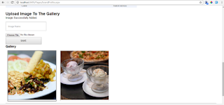 Image Uploaded for Gallery in Brand Profile Page