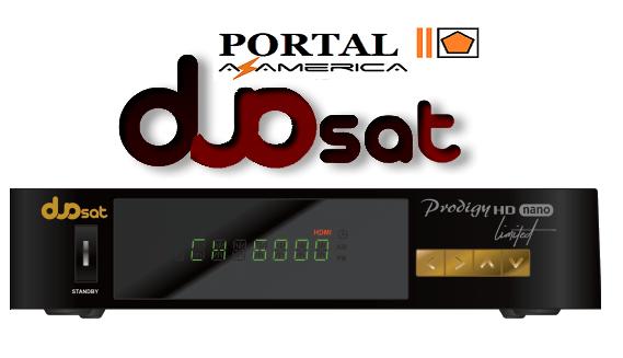Resultado de imagem para DUOSAT PRODIGY HD NANO LIMITED PORTAL AZAMERICA