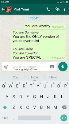 How to Bold, Italic and Strikethrough a Text on Your WhatsApp