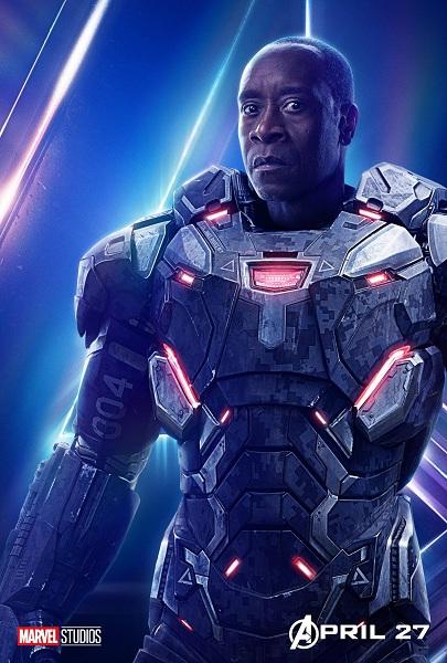 Avengers: Infinity War War Machine