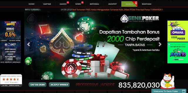 freebet gratis dari agen poker genkpoker