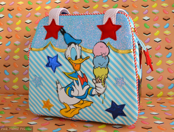 whoa disney donald duck handbag