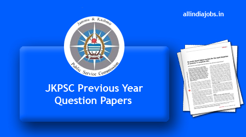 JKPSC Lecturer Previous Year Question Papers PDF Download