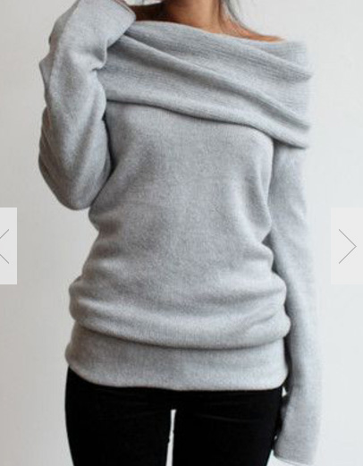 http://www.romwe.com/Boat-Neck-Loose-Grey-Sweater-p-134920-cat-684.html?utm_source=provarexcredere1.blogspot.it&utm_medium=blogger&url_from=provarexcredere1