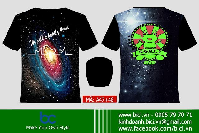 áo lớp galaxy mới
