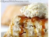 Upside Down Cheesecake Apple Pie Recipe