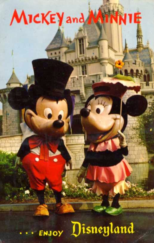 Pupepepets Blog Mickey And Minnie Through The Years 1955 Present