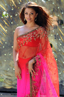 Aishwarya In Pink Saree