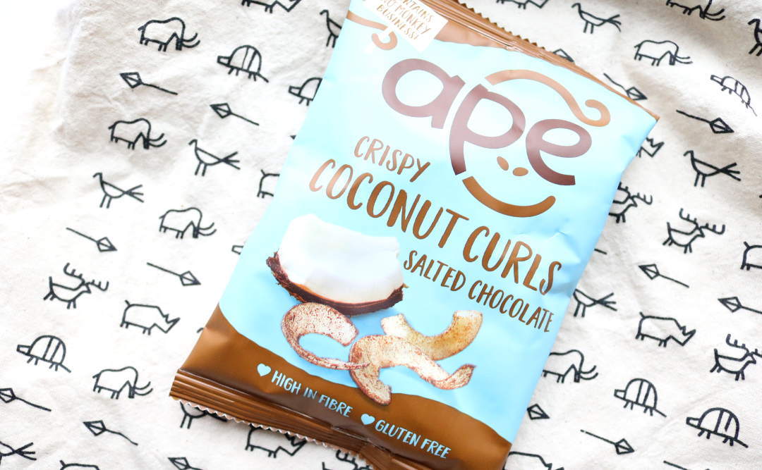 Ape Snacks Crispy Coconut Curls in Salted Chocolate