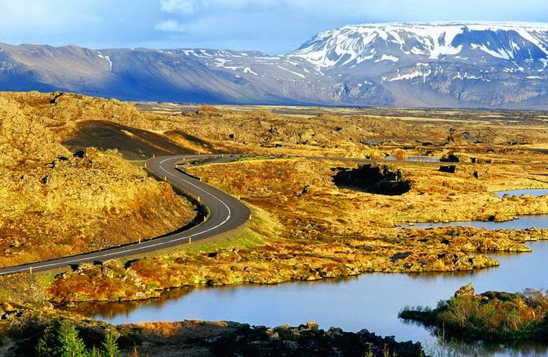 La route n°1 en Islande (Ring Road)
