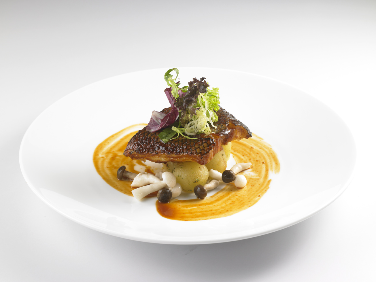 Enjoy the merriment of western asian palates with earle for One fish two fish menu