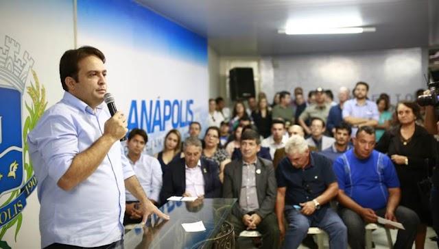 Anápolis: Cinco novos secretários são empossados