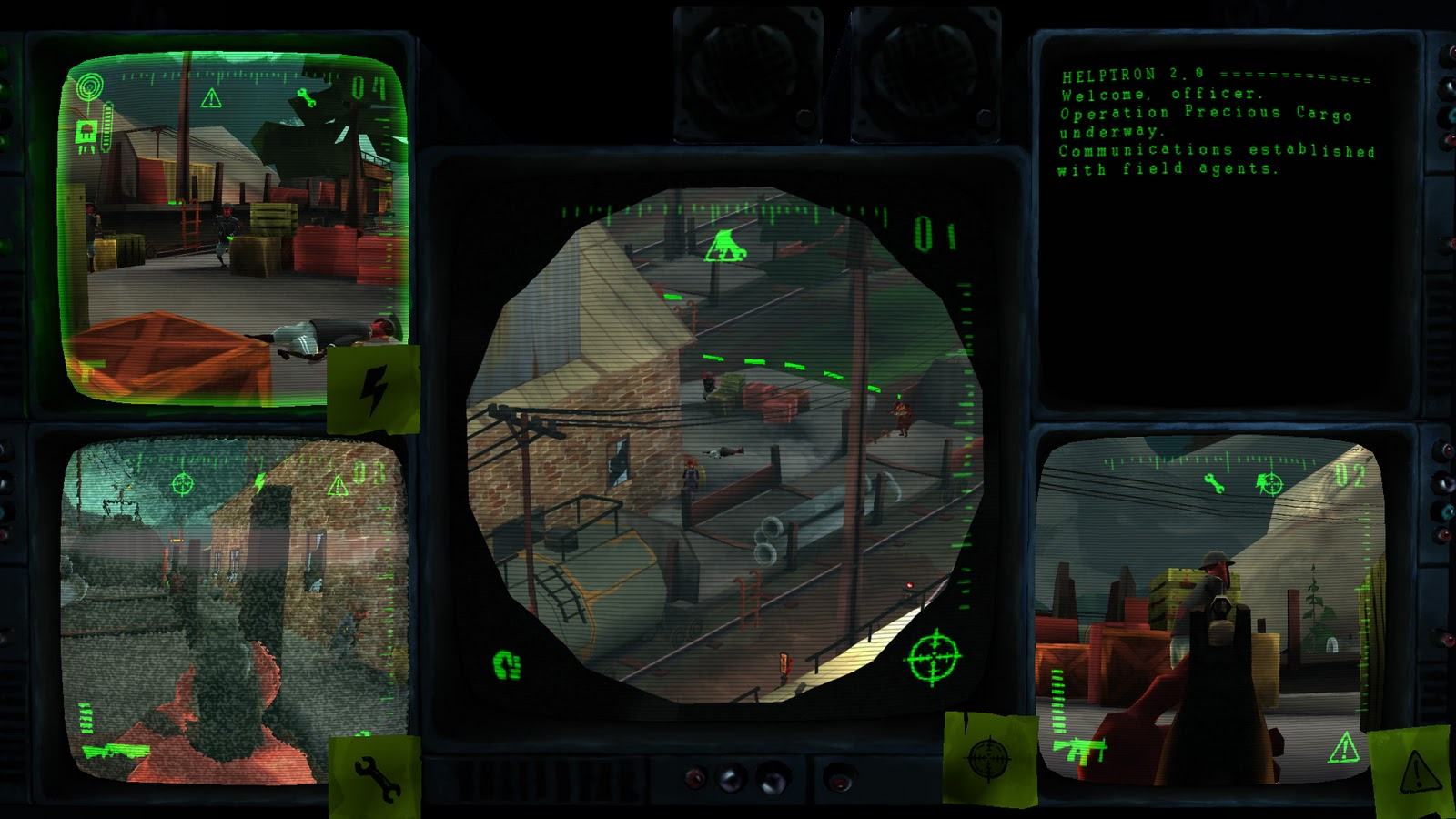 Upcoming Linux Game 'Signal Ops' to have Innovative Multi View Point